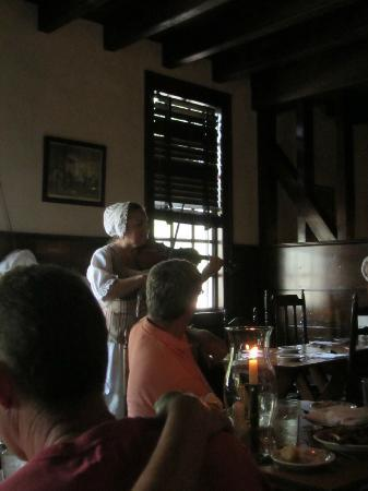 Josiah Chowning's Tavern: Another of the musicians playing.