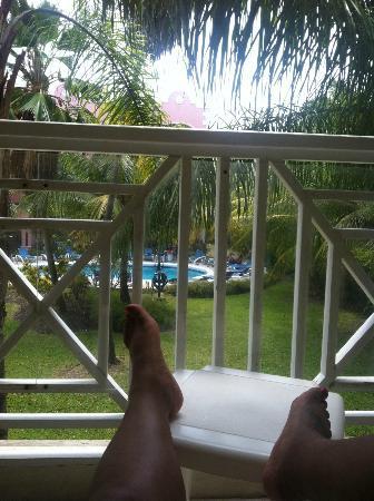 Sunbay Hotel: balcony view