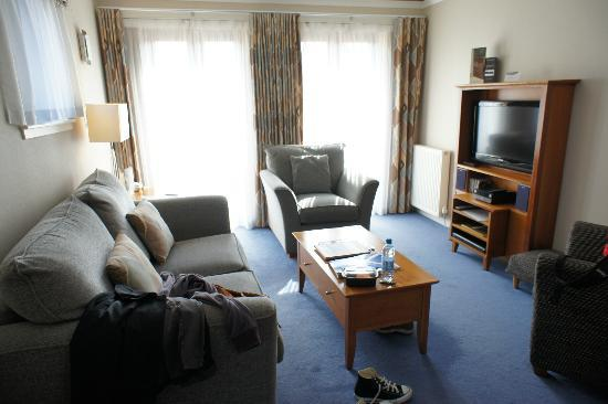 The Knight Residence by Mansley Serviced Apartments: living room (with cable and free wifi)