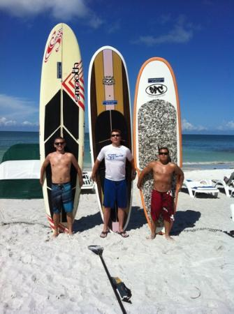 Sarasota Paddleboard Company: old school at Lido