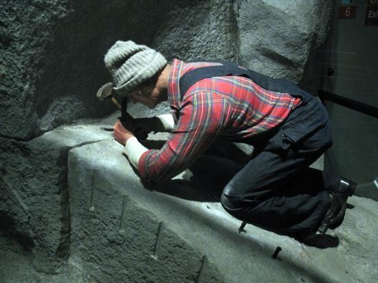 Maine State Museum: Granite Industry Exhibit