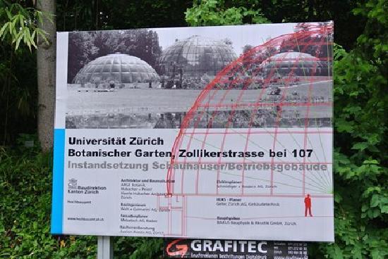 Botanical Garden (Botanischer Garten): Botanical Gardens plan