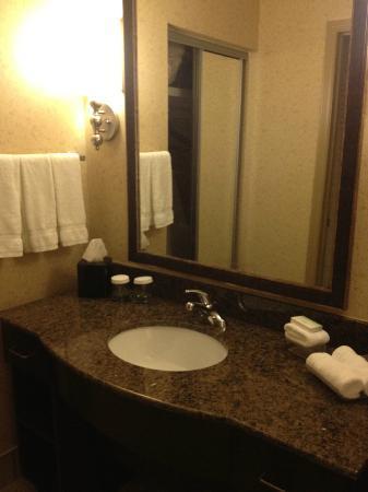 هوموود سويتس باي هيلتون برمنجهام/فيستال: bathroom