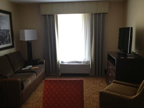 Homewood Suites by Hilton Binghamton/Vestal: living area