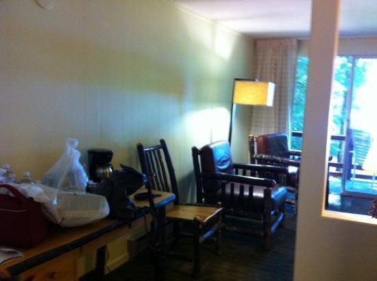 Lake Crescent Lodge : chambre