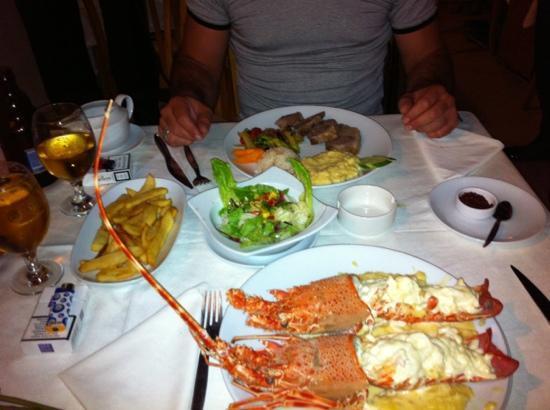Saray Restaurant : lobster
