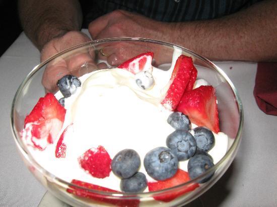 Cafe Fiore: White Chocolate Ice Cream