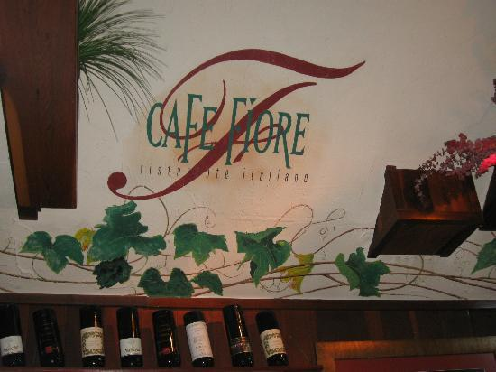 Cafe Fiore wall painting