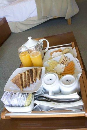 Casa Torres Hotel: El desayuno incluido
