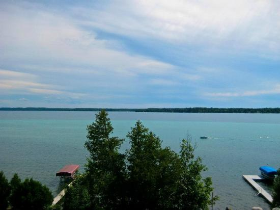 Torch Lake Bed & Breakfast: Amazing View