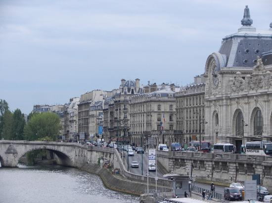 Hotel d'Orsay - Esprit de France: View from bridge one block from hotel