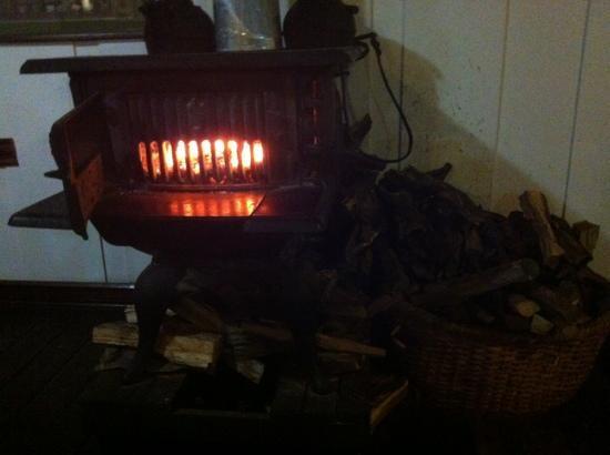 Volcan Turrialba Lodge: su calefacción.... en cada habitación!