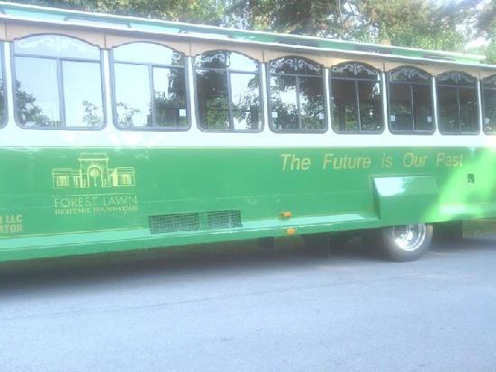 Forest Lawn: trolley