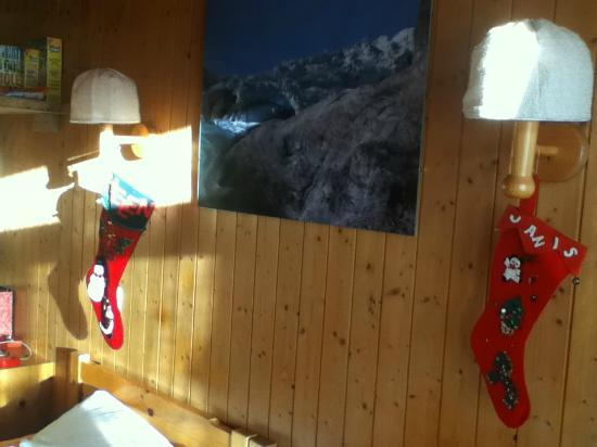Gasthof zum Ritter Stuebli: Christmas Stockings in our Cozy Room