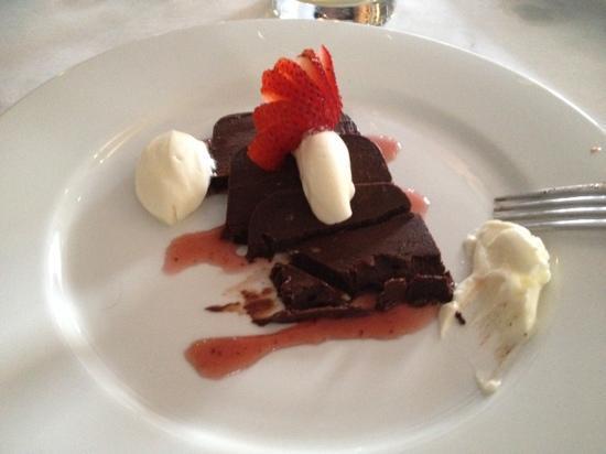 Dalla Cucina : amazing dark chocolate pâté... incredible!