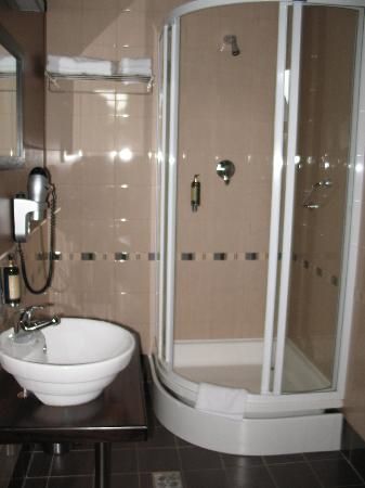 Hanza Hotel : Decent and clean bathroom