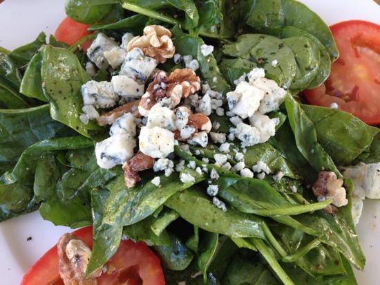 Paesano Ristorante Italiano : spinach salad- to die for!