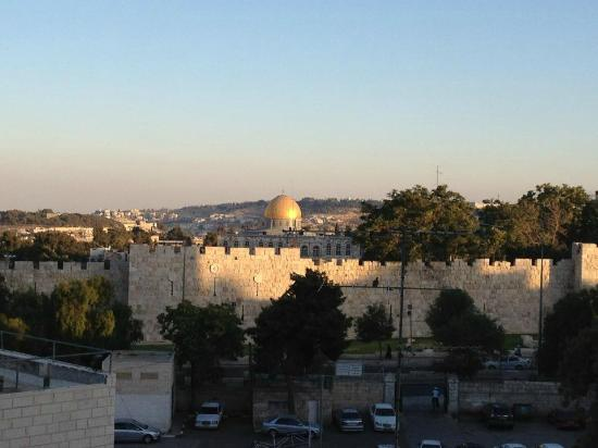 Holy Land Hotel: View from room 224