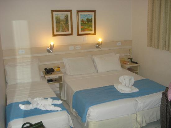 Tarobá Hotel: quarto triplo