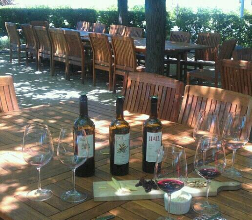 Tour and Tasting with Cheese Pairing at Hall St. Helena