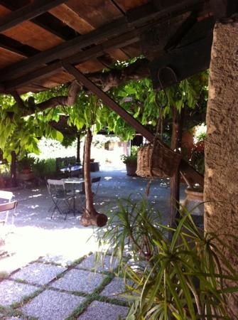 Hotel Lucrezia: Lucrezis's courtyard