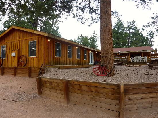 Triple B Ranch: The Dining Lodge where the smell of home cooking resides.