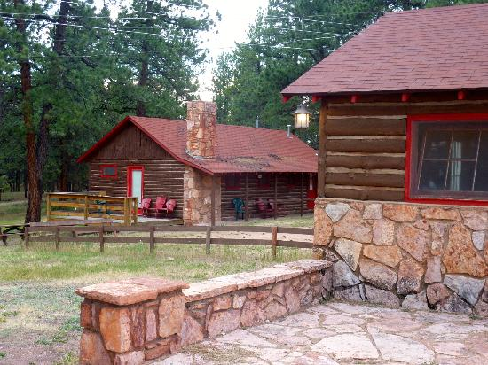 Triple B Ranch: Rustic cabins for rustic people who love to ride horses.
