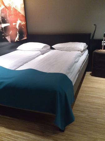 سكانديك جارفا كورج: bed 