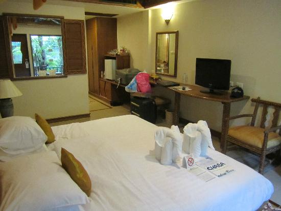 Chaba Cabana Beach Resort: Deluxe room