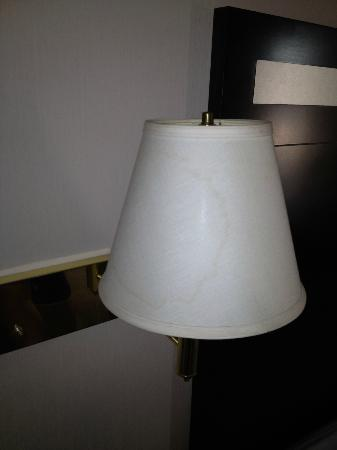 Howard Johnson Express Inn - Beckley : Stained lamp shade