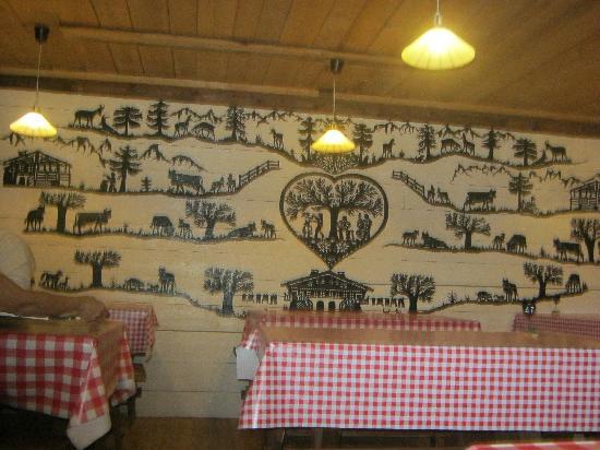 Fromagerie du Moleson: restaurant