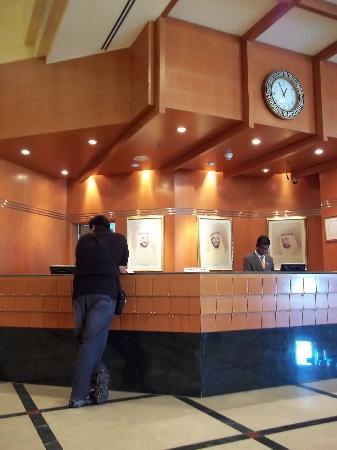 Swiss-Belhotel Sharjah : reception