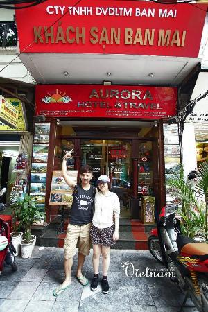 Hanoi Aurora Hotel: The Hotel Entrance