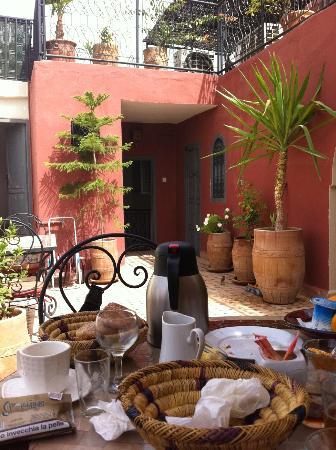 Riad Maud : breakfast