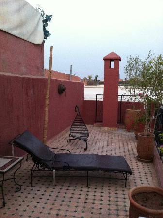 Riad Maud : terrace