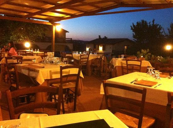 Agriturismo Il Casaletto: Il ristorante