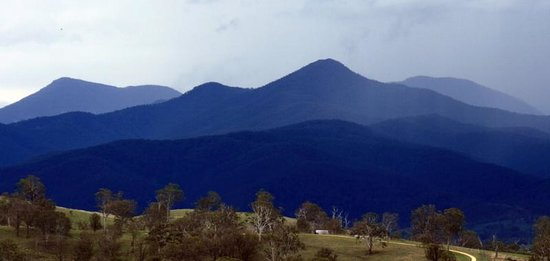 Candelo, Australia: Distant Escarpment