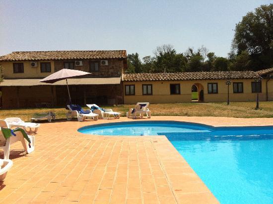 Agriturismo Il Casaletto: La piscina