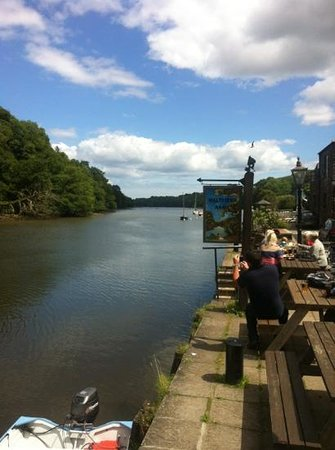 The Maltsters Arms: View from The Malsters Arms