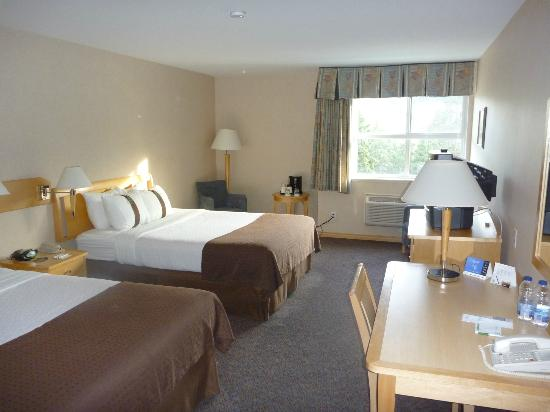 Holiday Inn West Kelowna: Double room