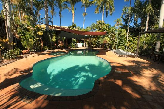 Broome-Time Accommodation: Pool area