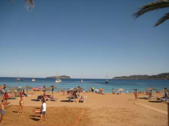 Spiaggia del Veraclub Ibiza