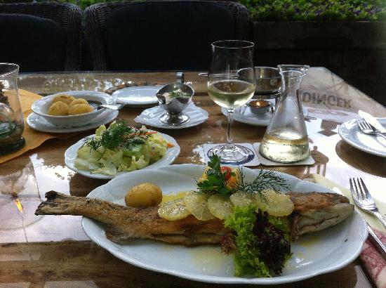 Salzhausen, Tyskland: Dinner at Ruter's