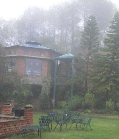 Baikunth Resort Kasauli: restaurant garden