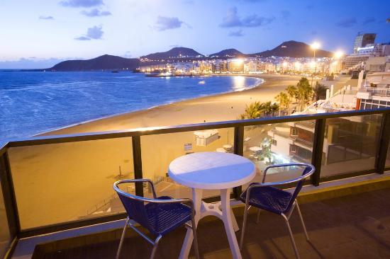 Apartamentos Colon Playa: Vista Terraza