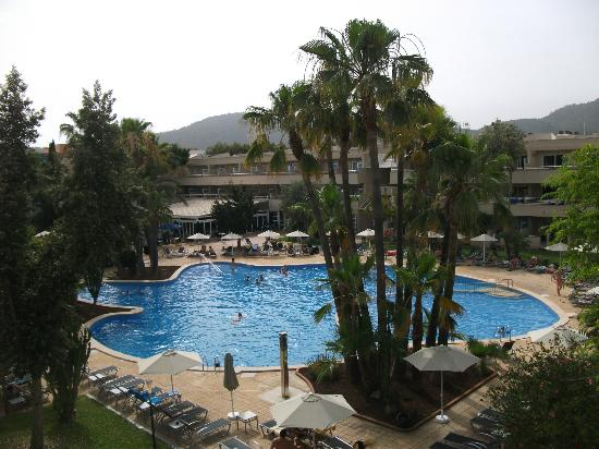Hotel Ibersol Son Caliu Mar: Vue de ma chambre