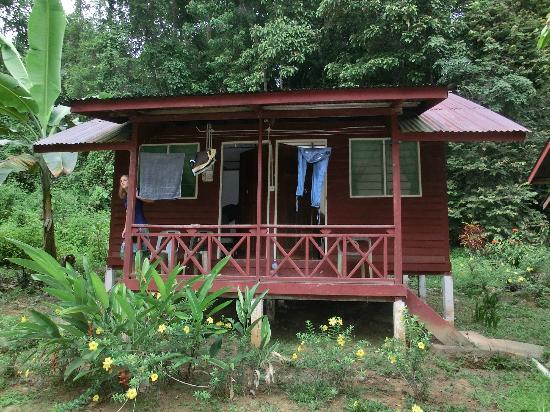 Kuala Tahan, Malaisie : Bungalow