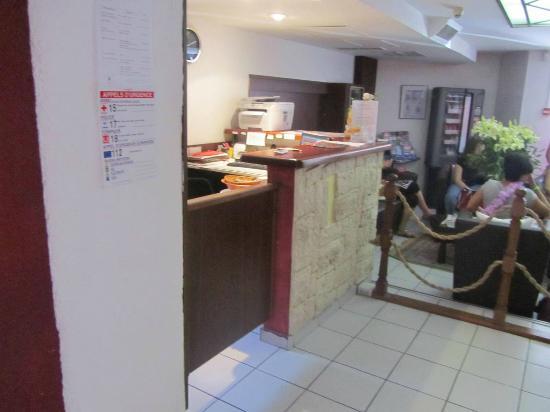 Hotel Teranga: Reception