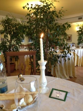Villa di Carlo Spa&Resort: cenetta a lume di candela
