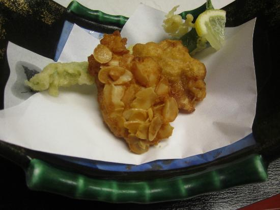 Torigin Honten: fried kochin chicken cutlets